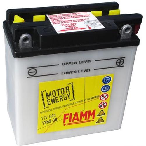 FIAMM 12N5-3B FLOODED 12V 5AH 7904437
