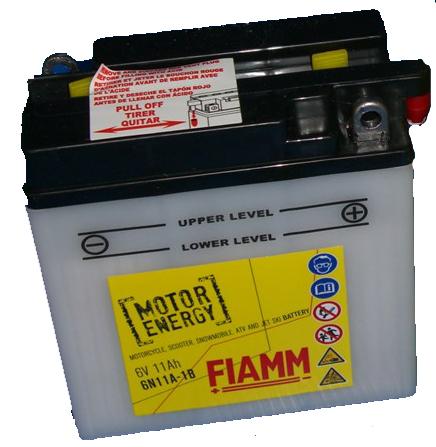 FIAMM 6N11A-1B FLOODED 6V 11AH