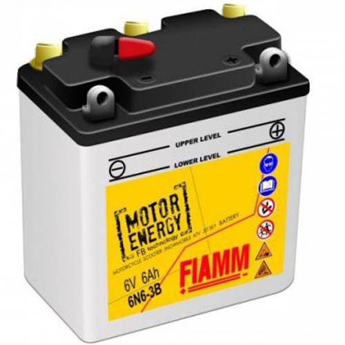 FIAMM 6N6-3B FLOODED 6V 6AH 7904465