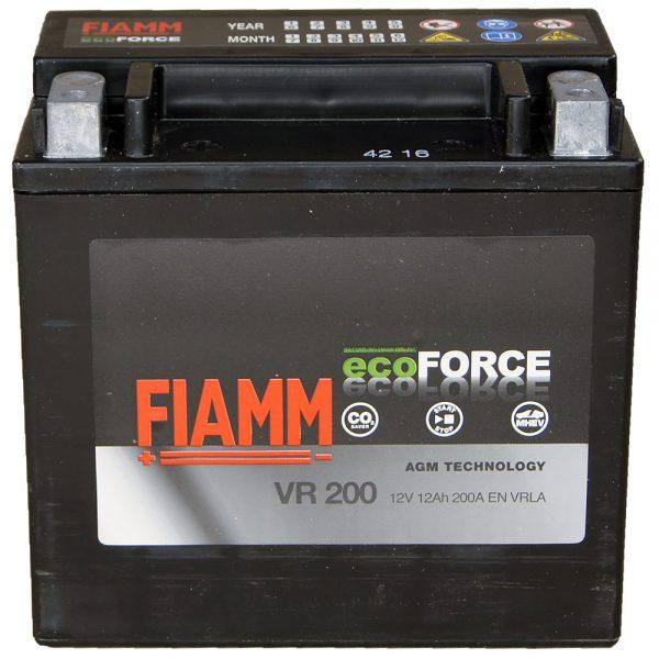 FIAMM ECOFORCE AGM VR200 12AH BTX14