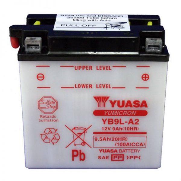 YUASA YB9L-A2