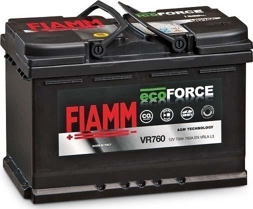 FIAMM ECOFORCE AGM VR760 70AH L3