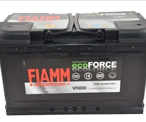 FIAMM ECOFORCE AGM VR800 80AH L4