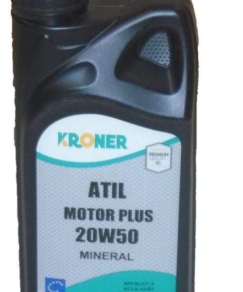 KRONER 20W50 ATIL MOTOR PLUS 1L
