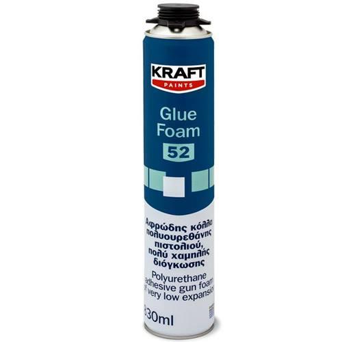 KRAFT GLUE FOAM 52 ΛΕΥΚΟ 0.83L